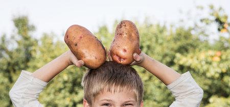 El truco de la patata de un padre que consiguió cambiar de humor a su hijo de tres años