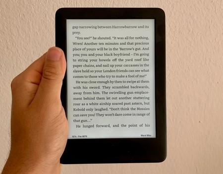 Kindle Tamano