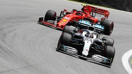 Hamilton Leclerc Brasil F1 2019