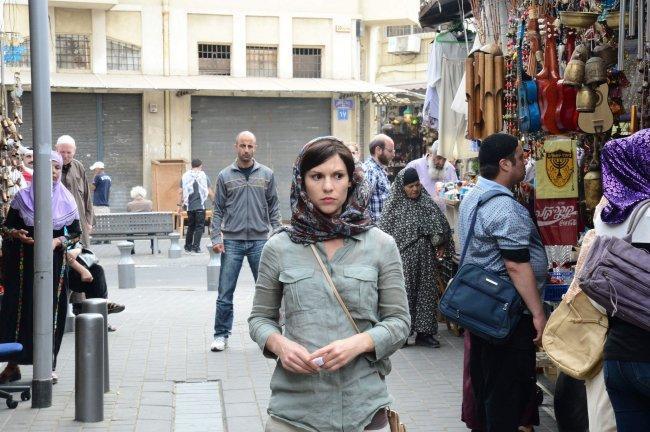 Imagen de Claire Danes en el episodio 2x01 de 'Homeland'