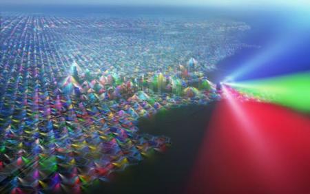 ¿Cómo son las redes que nos rodean? ¿Cómo serían si se vieran a simple vista?