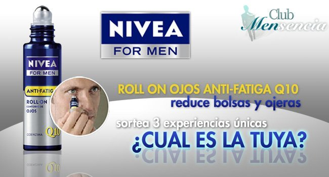 nivea for men y mensencia