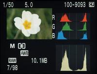 ¿Está sobrevalorado el histograma de la cámara?