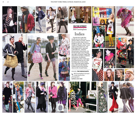 Bill Cunningham for the NY Times, 2009