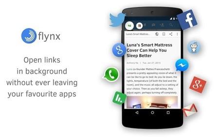 Flynx sale de beta e incluye Material Design