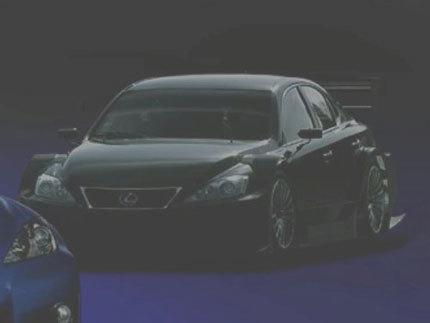 Lexus IS-F Racing Concept, debut en Tokyo