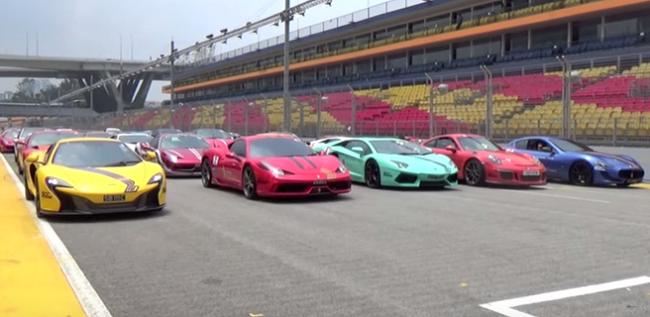 Una orquesta de caballos de potencia en el autódromo de Singapur que erizará tu piel