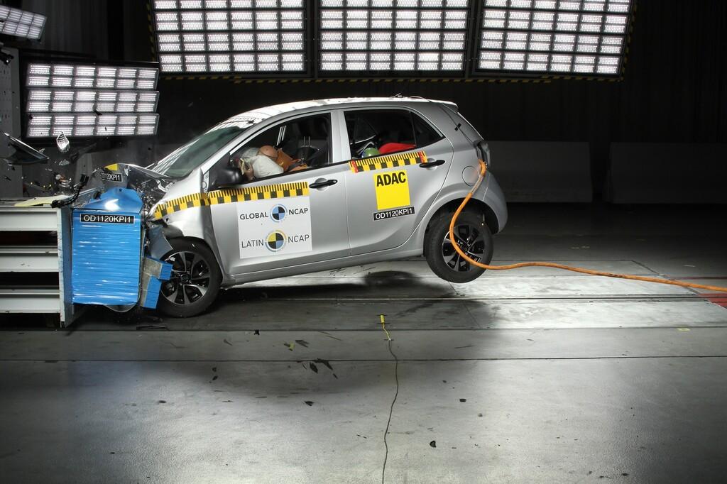 Kia Picanto fracasa en las pruebas de Latin NCAP y obtiene cero estrellas