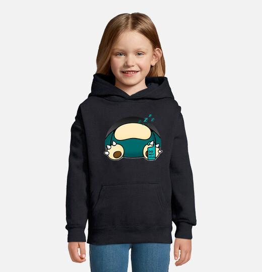 Sudadera para niños con capucha Snorlax