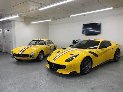 El dinero no dará la felicidad... ¡pero un Ferrari F12tdf a juego con tu 250 GT Lusso ayuda!