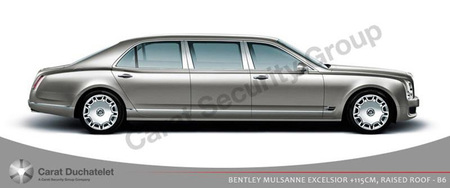 Bentley Mulsanne Paragon, la oficina blindada