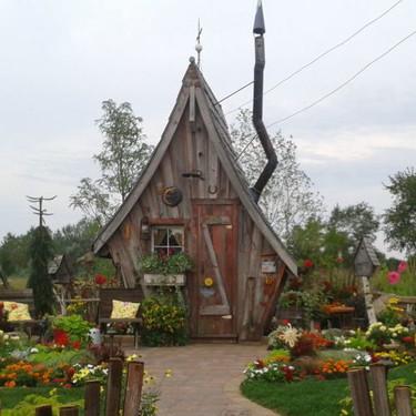 Hänsel y Gretel no lo creerían: casas de cuento donde vivir es creíble