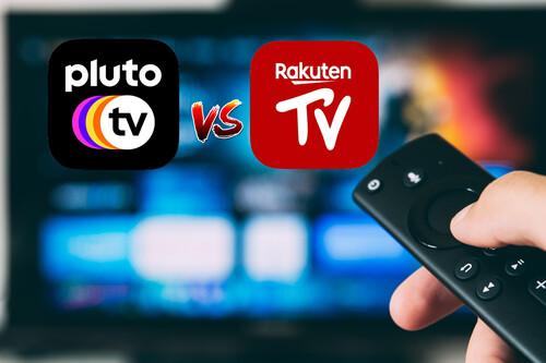 Pluto TV vs Rakuten TV: comparativa de apps de televisión en directo gratis y sin registro en más de 130 canales