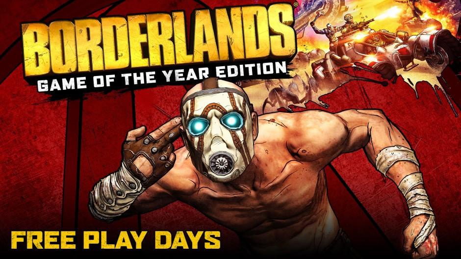 Borderlands: Game of the Year Edition se juega gratis este fin de semana en Xbox One con motivo de los Free Play Days