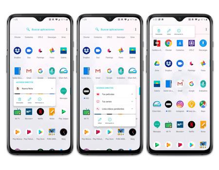 Oneplus 7 Menu Apps Desinstalar