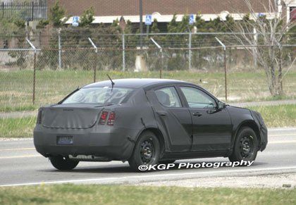 2007 Dodge Avenger Spy pics
