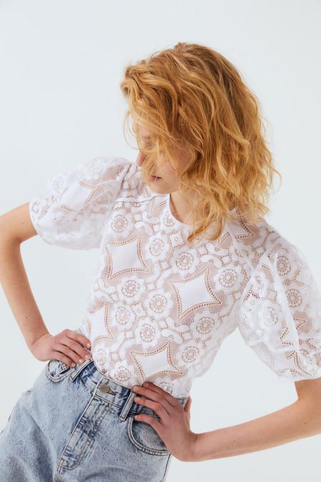 Tops Blusas Blancas Verano 2020 Sfera 06