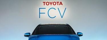 Toyota FCV, así luce un sedán de hidrógeno