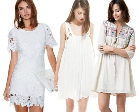 vestidos blancos verano 2014