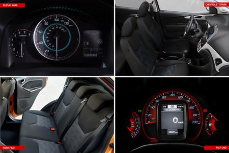 Ford Figo Vs Suzuki Ignis Vs Chevrolet Spark Vs Fiat Uno 3