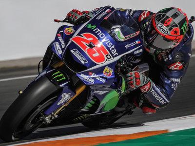 Maverick Viñales acaba la primera jornada de test como el piloto más rápido con la Yamaha 2016