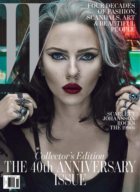 Scarlett Johansson w magazine