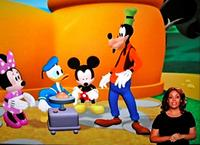 """""""La casa de Mickey"""" en lengua de signos"""