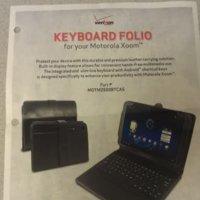 Keyboard Folio, un teclado bluetooth para el Motorola Xoom