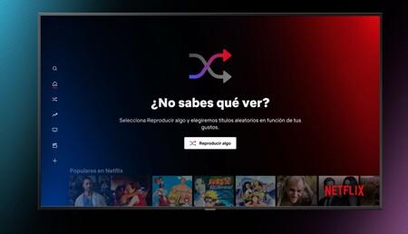 Netflix podrá elegir lo que ves: activa la función 'Reproducir algo' y decidirá de forma aleatoria contenido para ti en México