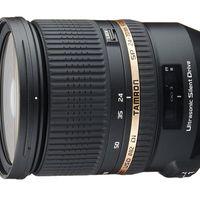 Black Friday: objetivo Tamron SP 24-70 mm F/2.8 Di VC USD para cámaras Canon por 719 euros en Amazon