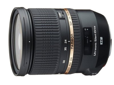 Black Friday: objetivo Tamron SP 24-70 mm F/2.8 Di VC USD para cámaras Canon por 719 euros en Amazon