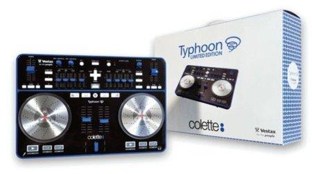 Mesa de mezclas Typhoon de Vestax en edición limitada para Colette