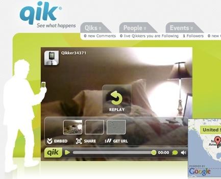 Qik se integra con Share on Ovi