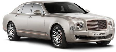 Bentley Hybrid Concept, un híbrido de superlujo para el Salón de Pekín