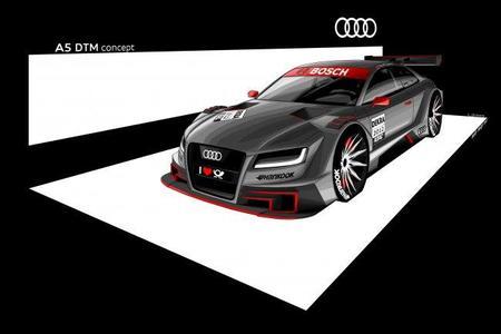 Audi nos enseña su A5 para el DTM