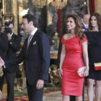 Paloma Cuevas recepcion Felipe VI Letizia
