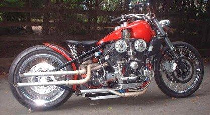 Harley-Davidson V6 con motor de Alfa Romeo