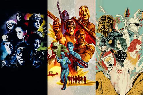 'El escuadrón suicida' y otras 17 películas y series con supergrupos de héroes disfuncionales previos al de James Gunn
