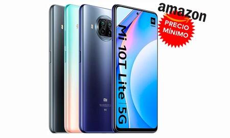 Tener un smartphone 5G no tiene por qué ser caro: precio mínimo en Amazon para el Xiaomi Mi 10T Lite 5G, ahora por 249 euros