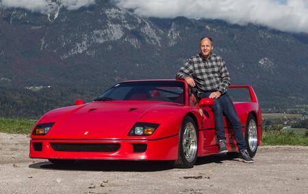 Este impecable Ferrari F40 del ex-piloto de Fórmula 1 Gerhard Berger busca nuevo dueño... por más de un millón de euros
