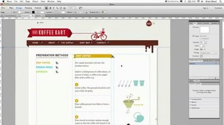 Adobe Muse: crea páginas web sin código