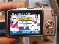 Lumix con WiFi de Panasonic