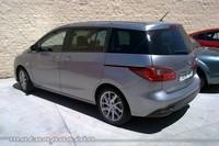 Mazda5, prueba (equipamiento, versiones y seguridad)