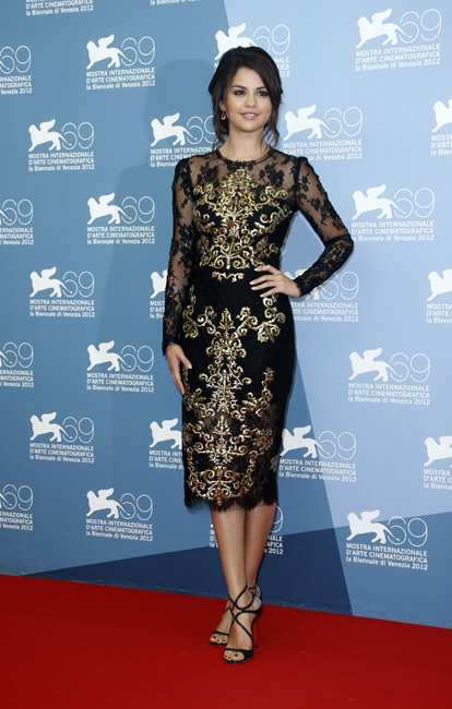 Selena Gomez Spring Brakers en el Festival de Venecia