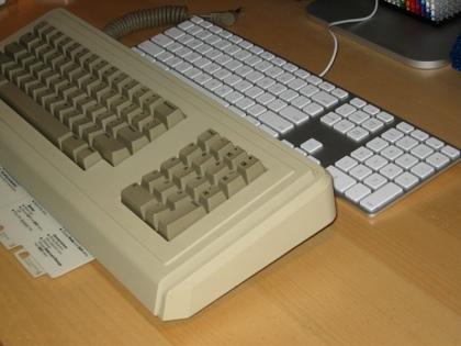 El nuevo teclado de Apple vs otros
