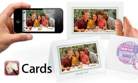 Apple Cards, postales personalizadas desde cualquier parte del mundo