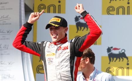 Max Chilton y Esteban Gutiérrez ganan en la ronda de la GP2 en Hungría