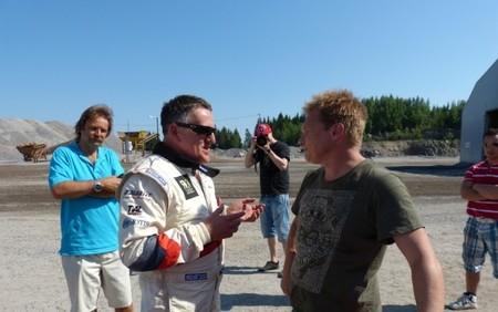 El ex-Fórmula 1 Mika Salo también prueba el RallyCross