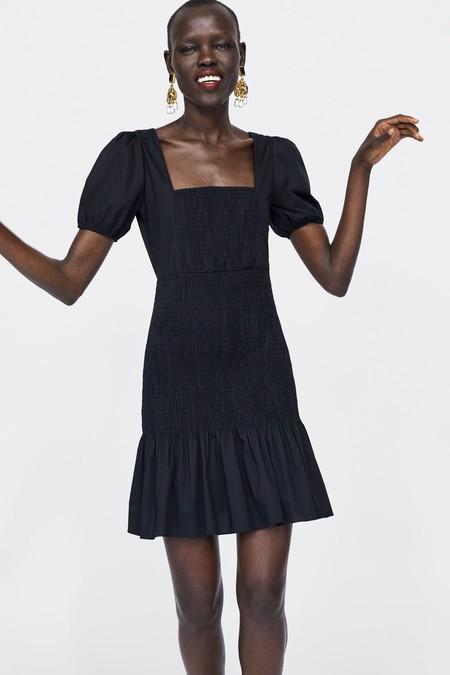Vestido Zara Fiesta Lbd 14