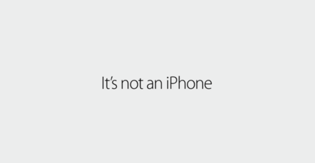 "Más reflectores al iPhone en la nueva campaña ""If it's not an iPhone, it's not an iPhone"""